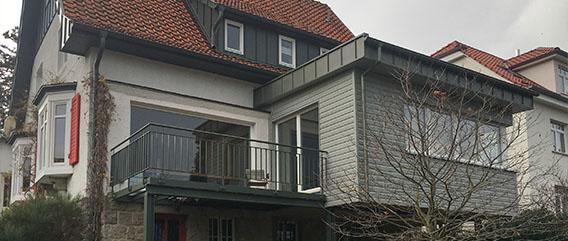 Umbau Wohnhaus Am Hang Slide